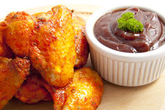 Spicy chicken Royalty Free Stock Images