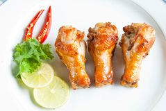 Spicy chicken Stock Photography