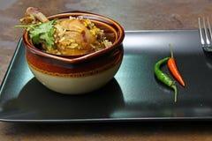 Spicy Chicken Biryani Royalty Free Stock Photo