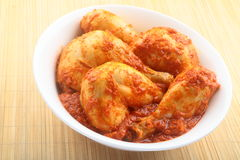 Spicy Chicken curry. Royalty Free Stock Photos