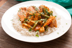 Spicy chicken korma Royalty Free Stock Photography