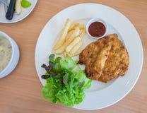 Spicy Chicken steak Royalty Free Stock Photo