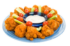 Spicy Chicken Wing Platter Royalty Free Stock Image