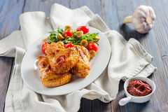 Spicy chicken wings Buffalo Stock Photo