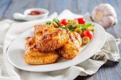 Spicy chicken wings Buffalo Stock Photos