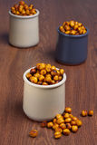 Spicy chickpea Royalty Free Stock Images