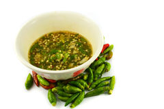 Spicy Chili Paste (Nam Prik) Royalty Free Stock Image