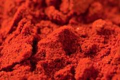 Spicy chili powder royalty free stock photo