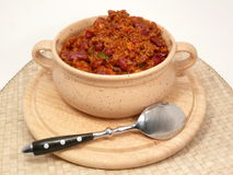 Spicy Chilipot Royalty Free Stock Image