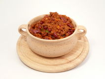 Spicy Chilipot Stock Photography