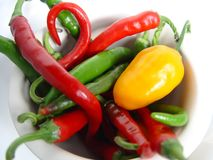 Spicy Chillies Royalty Free Stock Image