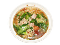 Spicy chiness noodle Stock Photography