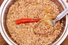 Spicy chunk tuna Royalty Free Stock Image