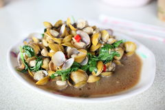 Spicy Clams Stock Photos