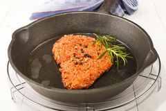Spicy coated pork chop with peppercorn Stock Images