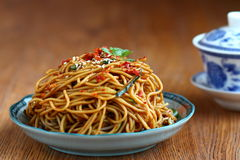 spicy Cold Noodles Stock Images