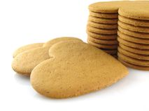 Spicy cookies Stock Photo