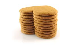 Spicy cookies royalty free stock image