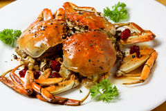 Spicy crab Stock Photo