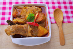 Spicy curry chicken Royalty Free Stock Photo