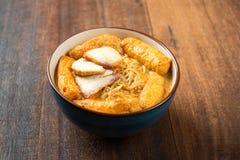 Hot Curry Laksa Noodles Asian cuisine Stock Photo