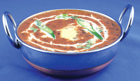 Spicy daal makhni. Indian daal makhni with butter Stock Images