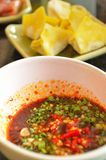 Spicy dipping sauce Stock Images