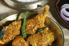 A Spicy dish chicken from Hyderabad Stock Photos