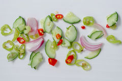 Spicy dish side Royalty Free Stock Images