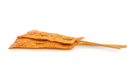 Spicy dried squid . Stock Photos