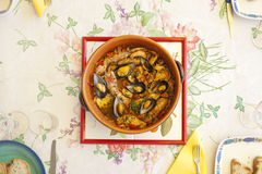 Spicy Fish Soup Royalty Free Stock Image