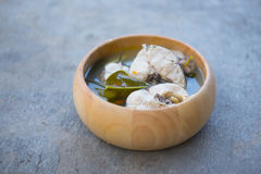 Spicy fish soup Stock Photography