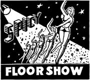 Spicy Floor Show Stock Image