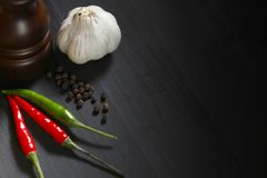 Spicy food Royalty Free Stock Images