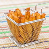 Spicy French Fries Stock Photo