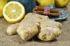 Spicy fresh ginger Royalty Free Stock Photos