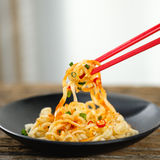 Spicy fried noodles