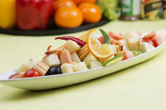 Spicy Fruit Salad Thai Royalty Free Stock Photography