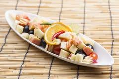 Spicy Fruit Salad Thai style Stock Photo