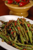 Spicy Green Beans Stock Images