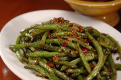 Spicy Green Beans Stock Image