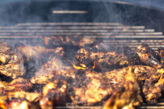 Free Spicy Grilled Jerk Chicken Stock Photography - 93253292