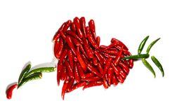 Spicy hart Royalty Free Stock Photos