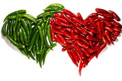 Spicy harts royalty free stock images