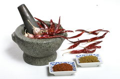 spicy herb ingredient Royalty Free Stock Photo