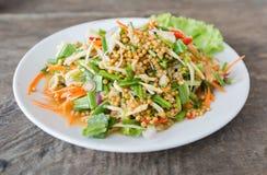 Spicy Horseshoe Crab Egg Salad Stock Photography