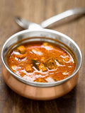 Spicy indian mutton curry Stock Images