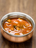 Spicy indian mutton curry Royalty Free Stock Photo