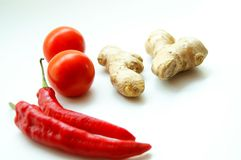 Spicy Ingredients Stock Photography