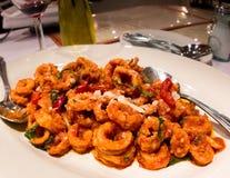 Spicy Italian Calamari Royalty Free Stock Photo